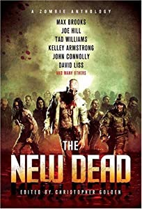 "Cover of ""The New Dead: A Zombie Antholog..."