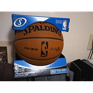 Spalding NBA Official Game Indoor Composite Basketball