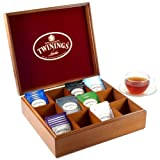 Twinings Wooden 12 Compartment Dividable Tea Box