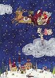 アドベントカレンダー・サンタと天使の配達 GVAK317
