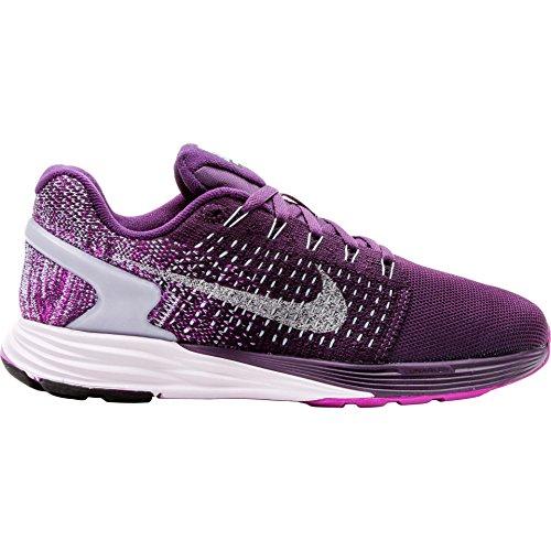 Women's Nike Lunarglide 7 Flash Running Shoes Purple 803567-500 (8.5)