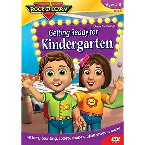 Quality Getting Ready For Kindergarten Dvd By Rock N Learn
