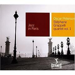 Oscar Peterson-Stephanie Grapelli Quartet, Vol. 1 album cover