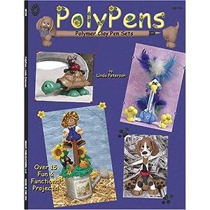 Polymer Clay Pen Book