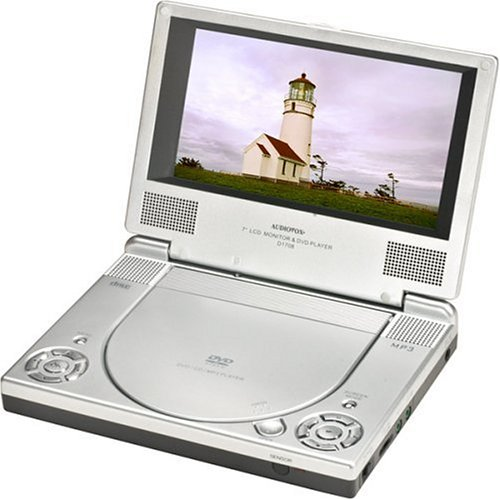 Audiovox D1708 7 Inch Portable DVD Player