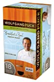 Wolfgang Puck WP79101 Breakfast in Bed Medium Roast Single Cup Coffee Pods, 18-count