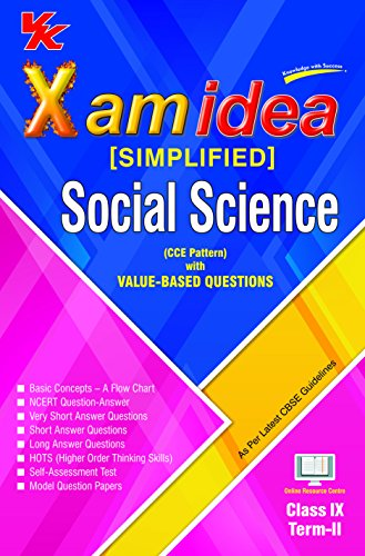 Xam Idea (Simplified) Social Science Term-2 Class 9