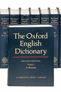 "Cover of ""The Oxford English Dictionary (..."