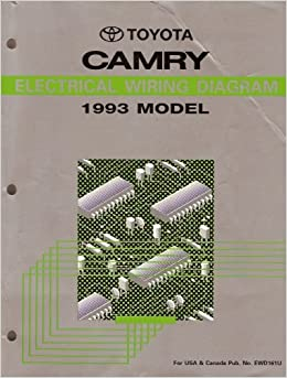 Electrical Wiring Diagram for 1993 Toyota Camry: Toyota