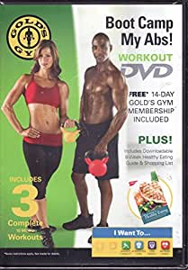 Amazon.com : Gold's Gym Boot Camp My Abs Workout DVD ...