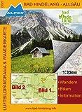 Alpenwelt Karte, Bad Hindelang - Allgäu (Bad Hindelang - Allgäu Wander- und Radkarte)