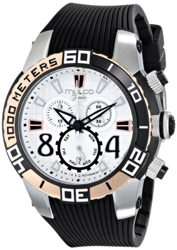 mulco unisex mw1-74197-021 analog display swiss quartz black watch,video review,(VIDEO Review) MULCO Unisex MW1-74197-021 Analog Display Swiss Quartz Black Watch,