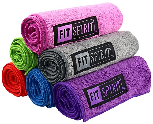 Fit Spirit Super Absorbent Microfiber Towel Combo Set