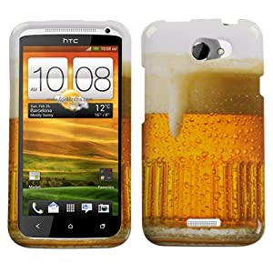 MYBAT Beer-Food Collection Phone Protector Case for HTC One X