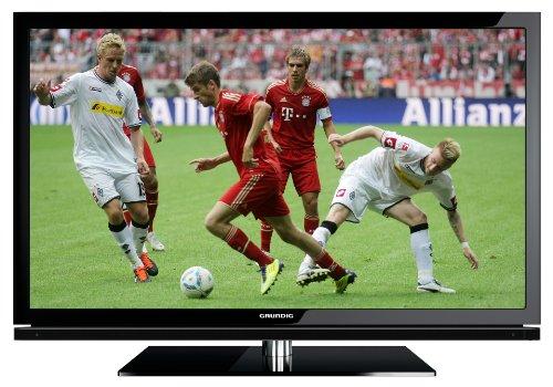 Grundig 40 VLE 8130 BG 102 cm (40 Zoll) LED-Backlight-Fernseher, Energieeffizienzklasse A  (Full HD, 400 Hz, DVB-T/C/S2, DLNA, 4x HDMI, USB 2.0, CI+) schwarz