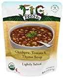 Fig Food Company - Organic Chickpea, Tomato & Thyme Soup - 14.5 oz.