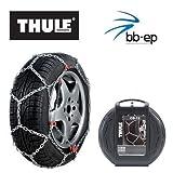 Schneekette THULE CB-12 PKW für die Reifengröße 215/55 R16 Preis-Leistungs-Sieger (1 Satz - 2 Stück Schneeketten)