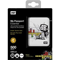 My Passport Essential 500 GB USB 2.0 Portable External Hard Drive WDBAAA5000AD6-NESN
