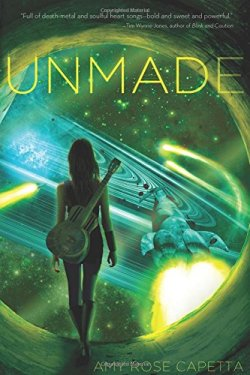 Unmade by Amy Rose Capetta | Featured Book of the Day | wearewordnerds.com
