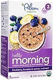 Plum Organics Stage 3 Hello Morning - Blueberry, Banana & Oatmeal - 3 oz