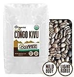 Congo Kivu Organic Coffee, Whole Bean, Fresh Roasted Coffee LLC (5 lb.)