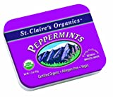 St. Claire's Organic Candy, Peppermints, 1.5 Ounce (Pack of 6)