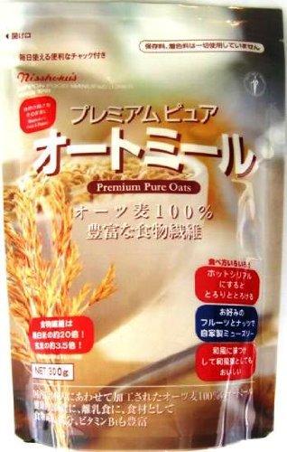 日本食品製造 プレミアムピュアオートミール 300g×4個
