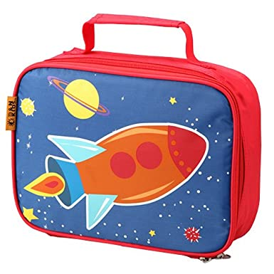 Space Ship Insulated Lining Lunch Bag