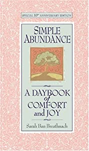 "Cover of ""Simple Abundance:  A Daybook of..."
