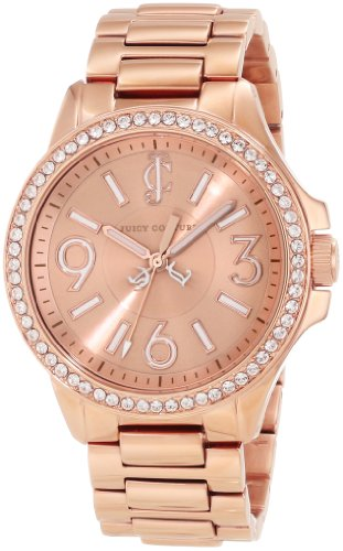 s 1900960 jetsetter rose gold bracelet watch,juicy couture women,video review,(VIDEO Review) Juicy Couture Women's 1900960 Jetsetter Rose Gold Bracelet Watch,