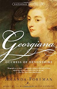 "Cover of ""Georgiana: Duchess of Devonshir..."