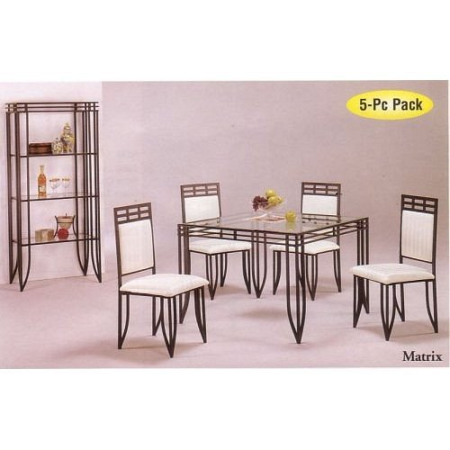 Buy Low Price Acme Furniture 5pc Matrix Style Black  : 51MXhaQyhzLSL500 from www.diningfurnituremart.com size 500 x 500 jpeg 32kB