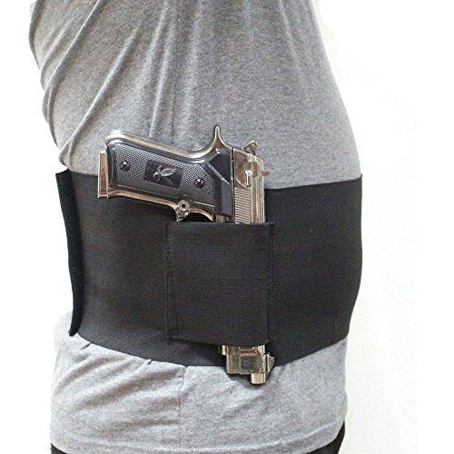 Depring Concealed Carry Belly Band Pistol Gun Holster