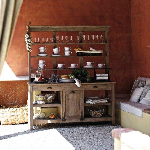Mirabeau Gartenschrank aus Teakholz