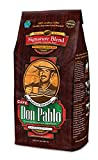 2LB Cafe Don Pablo Gourmet Coffee Signature Blend - Medium-Dark Roast Coffee - Whole Bean Coffee - 2 Pound ( 2 lb ) Bag