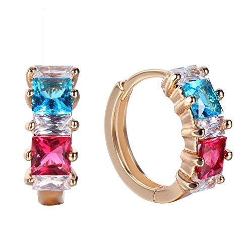 Romantic Time Multi Faces Diamod Four Prong Holes French