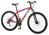 "Mongoose Men's Impasse HD Bicycle with 29"" Wheels, Red, 18""/Medium"