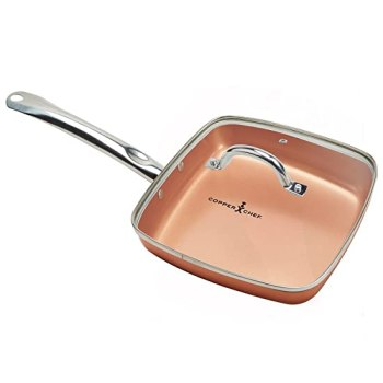 Best Red Copper Pan Reviews: The Top 5 Choices Of 2019 8