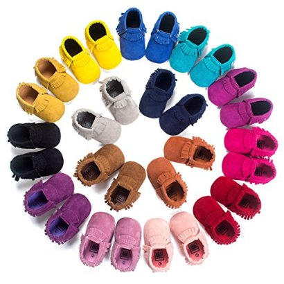 Baby-Boys-Girls-First-Walkers-Tassel-Soft-Non-slip-Crib-Shoes-Moccasin-Sandal-11cm0-6months-Style-12