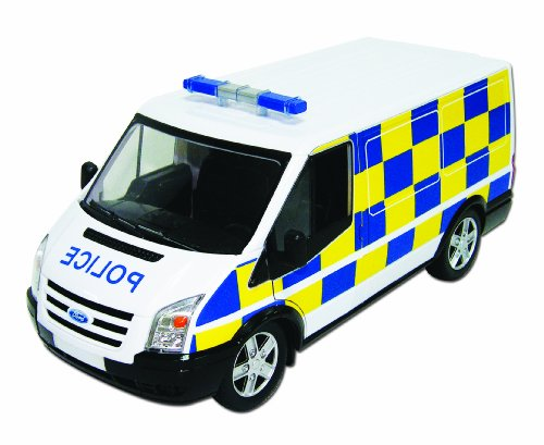 Powco Toys 1:18 Scale Friction-Powered Ford Transit
