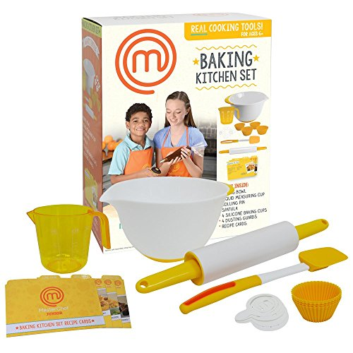 MasterChef Junior Baking Set- 7 Pc. Tools & Recipes