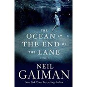 book cover for The Ocean at the End of the Lane by Neil Gaiman
