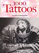 1000 Tattoos by Taschen, Amazing Tattoo Books, Huge variety of Tattoo Styles, all full page visuals! Definitely one of the best buy Tattoo Books for Tattoo lovers