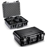 Neewer-13x10x633x25x15cm-Waterproof-Carrying-Case-with-Cubed-Foam-for-Cameras-Flashes-LED-Lights-Lenses-and-Other-Accessories-Black