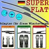 SCheibenwischer SuperFlat Nissan Navara (D40) ab 10.06- (600-480)