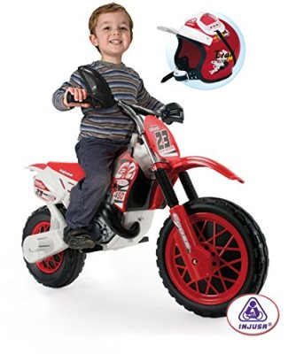 INJUSA-Moto-Cross-CR-6V-Ride-On-with-Helmet