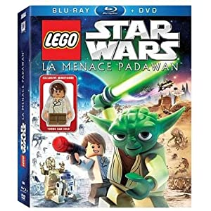 Star Wars LEGO : La menace Padawan [Blu-ray]