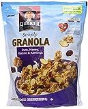 Quaker Natural Granola Oats, Honey, Raisins and Almonds - Two 34.5oz Bags