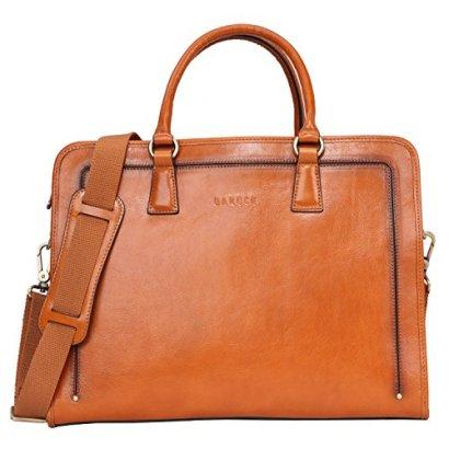 Banuce-Womens-Full-Grains-Leather-Briefcase-Messenger-Satchel-Bag-14-Laptop-Case