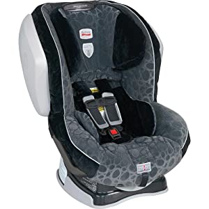 Britax Advocate 70 CS Click and Safe Convertible Car Seat, Opus Gray